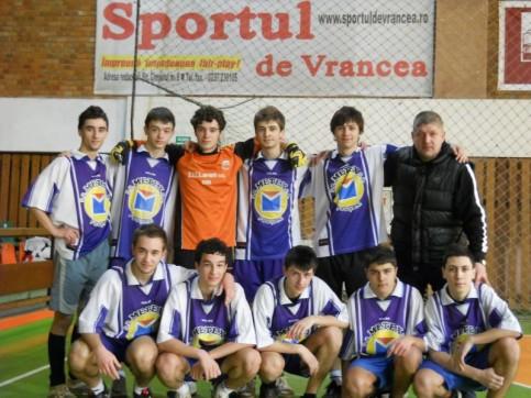 Echipa de minifotbal a CNU 2011, locul III la etapa judeteana a ONSS