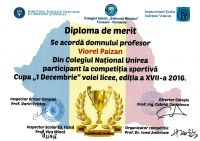 Diploma decembrie 2016
